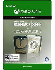 Tom Clancy's Rainbow Six Siege Currency pack 4920 Rainbow credits - Xbox One [Digital Code]