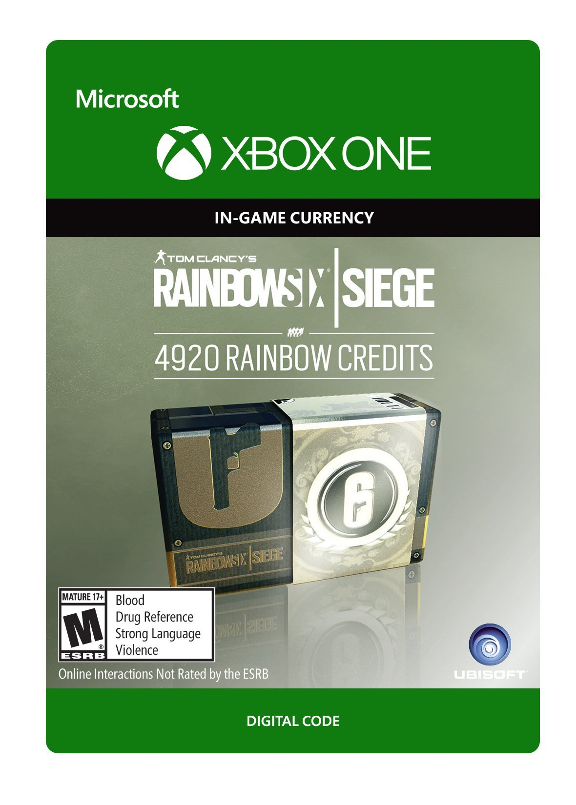 Tom Clancy's Rainbow Six Siege Currency pack 4920 Rainbow credits - Xbox One [Digital Code]