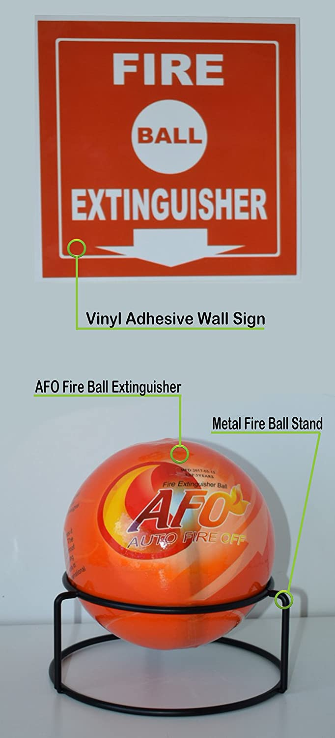 AFO Fire Ball, ABC Fire Extinguisher, Fire Suppression Device, Fire ...