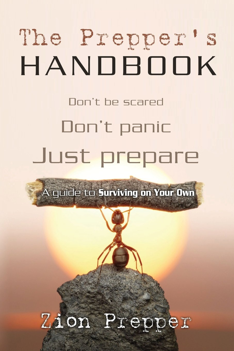 The Prepper's Handbook: A Guide to Surviving on Your Own: Zion Prepper,  Bryan Foster: 9781466447813: Amazon.com: Books
