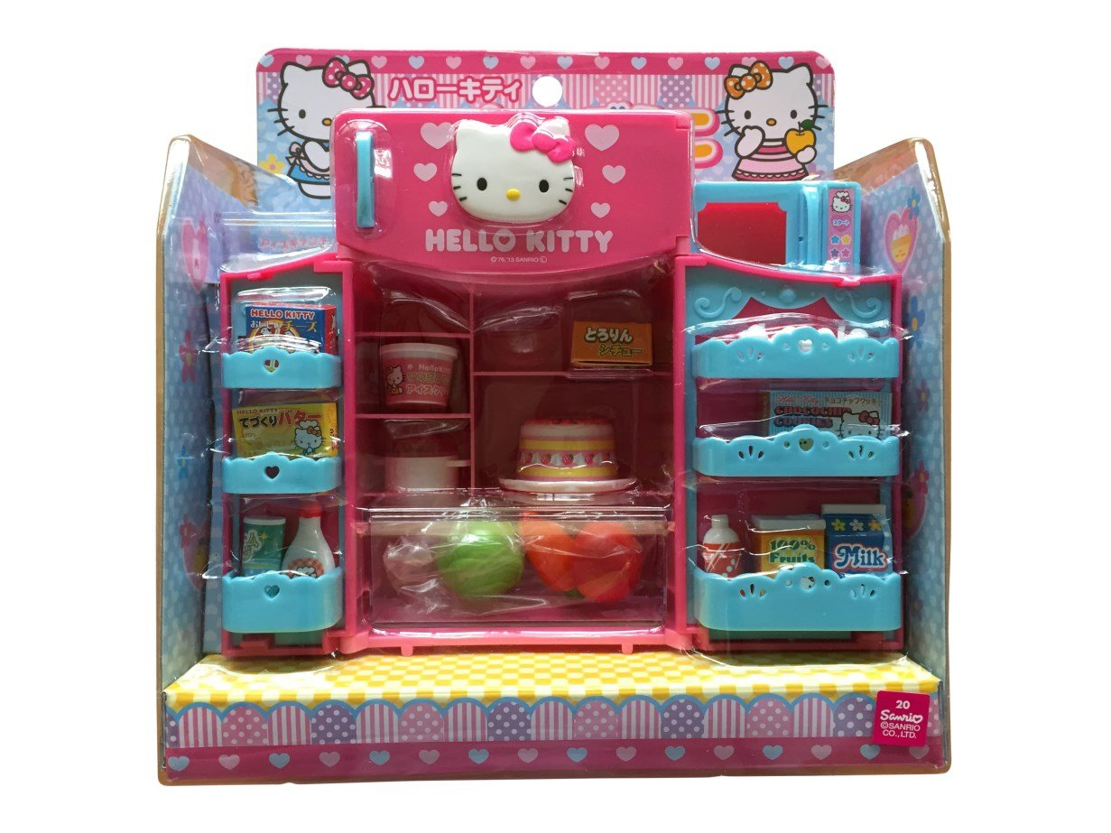 Hello Kitty Kitchen and Refrigerator Sets Sold Together - Everything Needed for Cooking Play by Hello Kitty (Image #5)