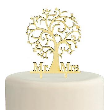 Amazon Com Fun Express Family Tree Mr Mrs Wood Cake