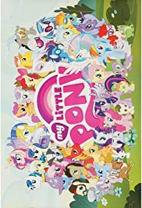 Aquarius My Little Pony Cast Poster, 24 by 36 Inch