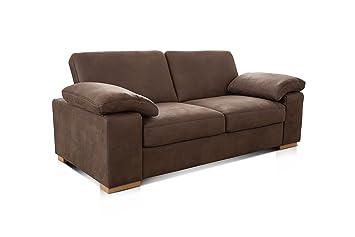 Cavadore 3 Sitzer Sofa Ventere 3er Couch In Wildlederoptik 200 X