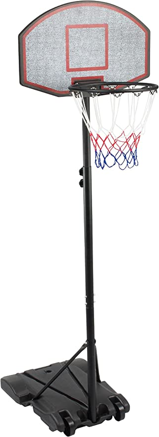 Amazon.com : KLB Sport Height Adjustable Portable Youth Basketball Hoop : Sports & Outdoors