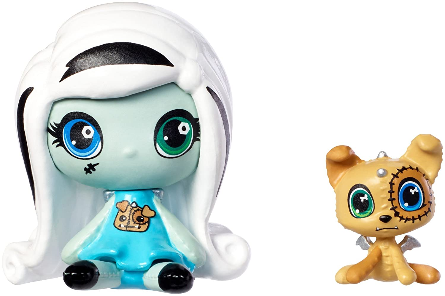 Monster High Minis Frankie Stein Doll & Watzit Pet by Monster High