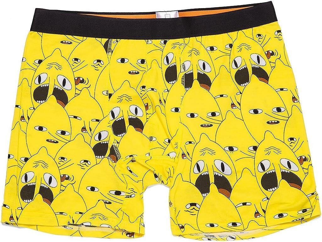 Loot Crate Adventure Time Lemongrab Underwear Boxer Briefs Exclusive