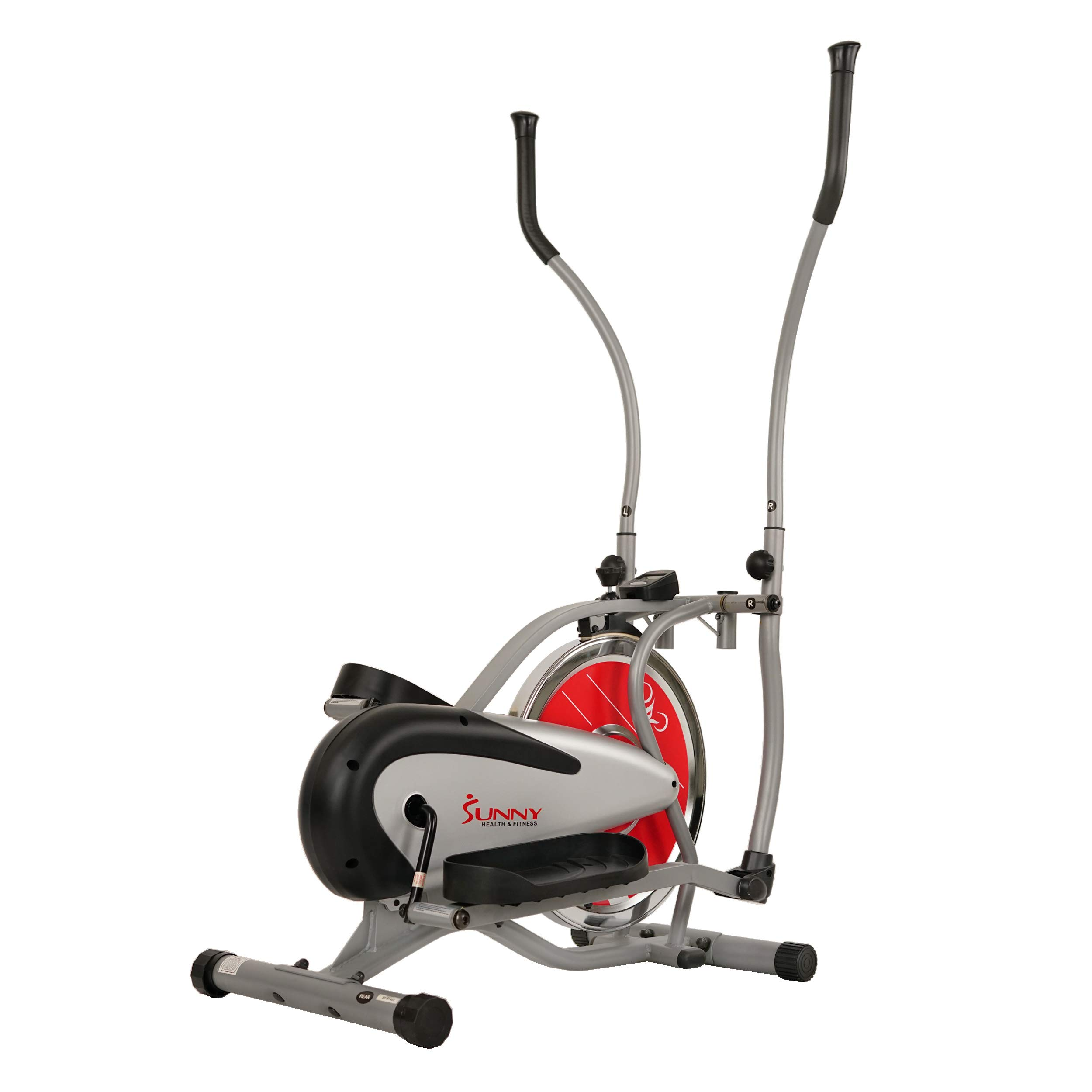 Sunny Health & Fitness SF-E1405 Flywheel Elliptical Trainer, Gray by Sunny Health & Fitness (Image #12)