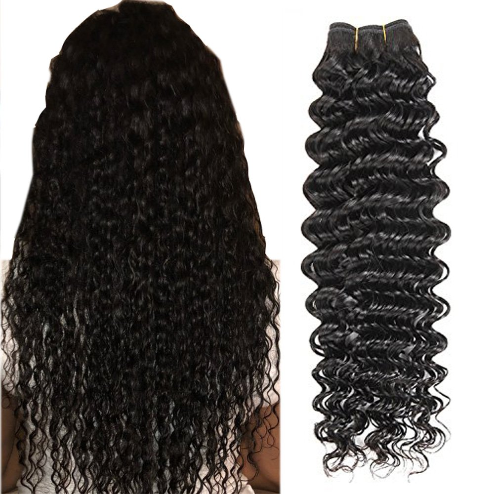 Amazon Keyu Deep Wave Curly Clip In Human Hair Extensions Hair