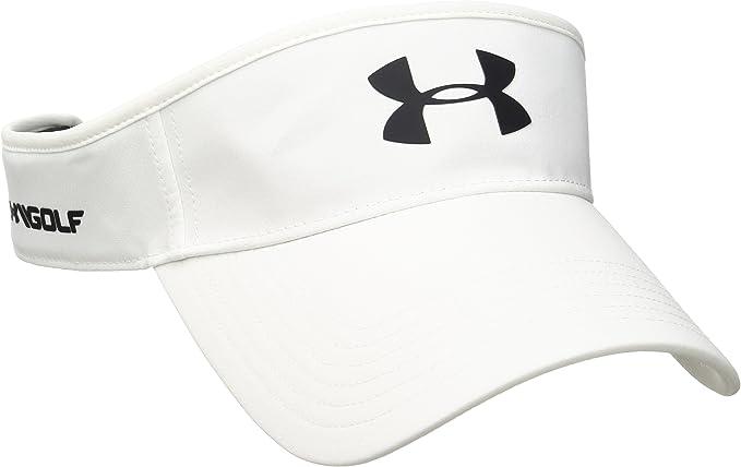 Under Armour Mens Core Golf Visor Visera, Hombre, Blanco (White ...
