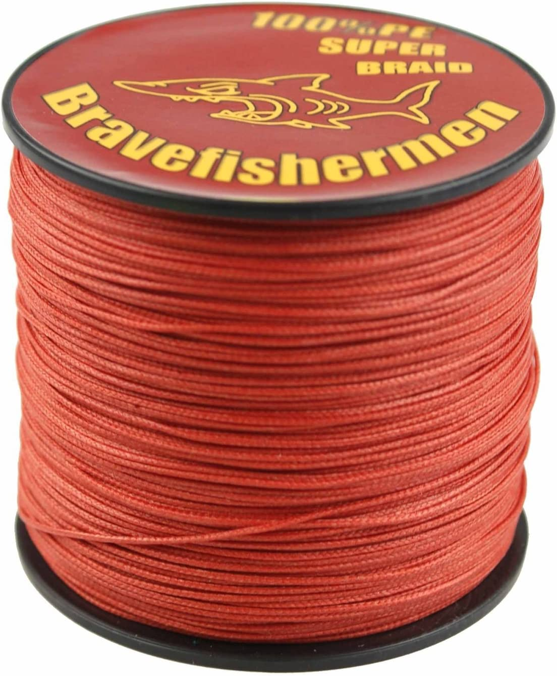 Power Pro Spectra Fiber Braided Fishing Line, Vermilion Red, 150YD 15LB