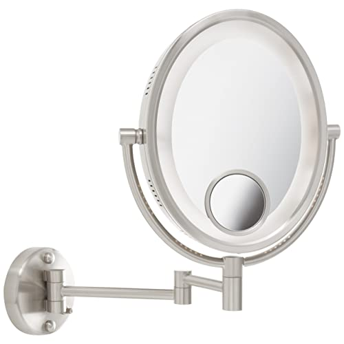 15x Magnifying Mirror With Lights Amazon Com