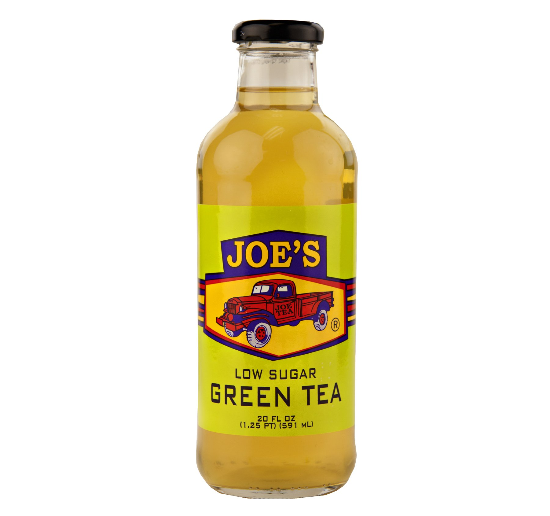 Joe Tea Low Sugar Green Tea 20 oz. (12 Bottles)