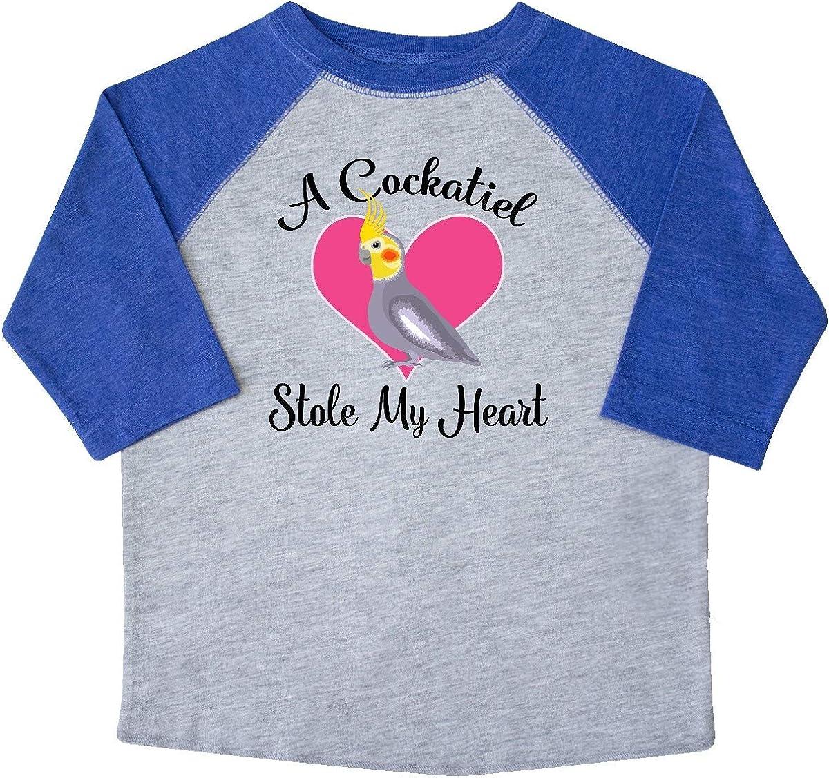 inktastic Cockatiel Bird Pet Gift Toddler T-Shirt