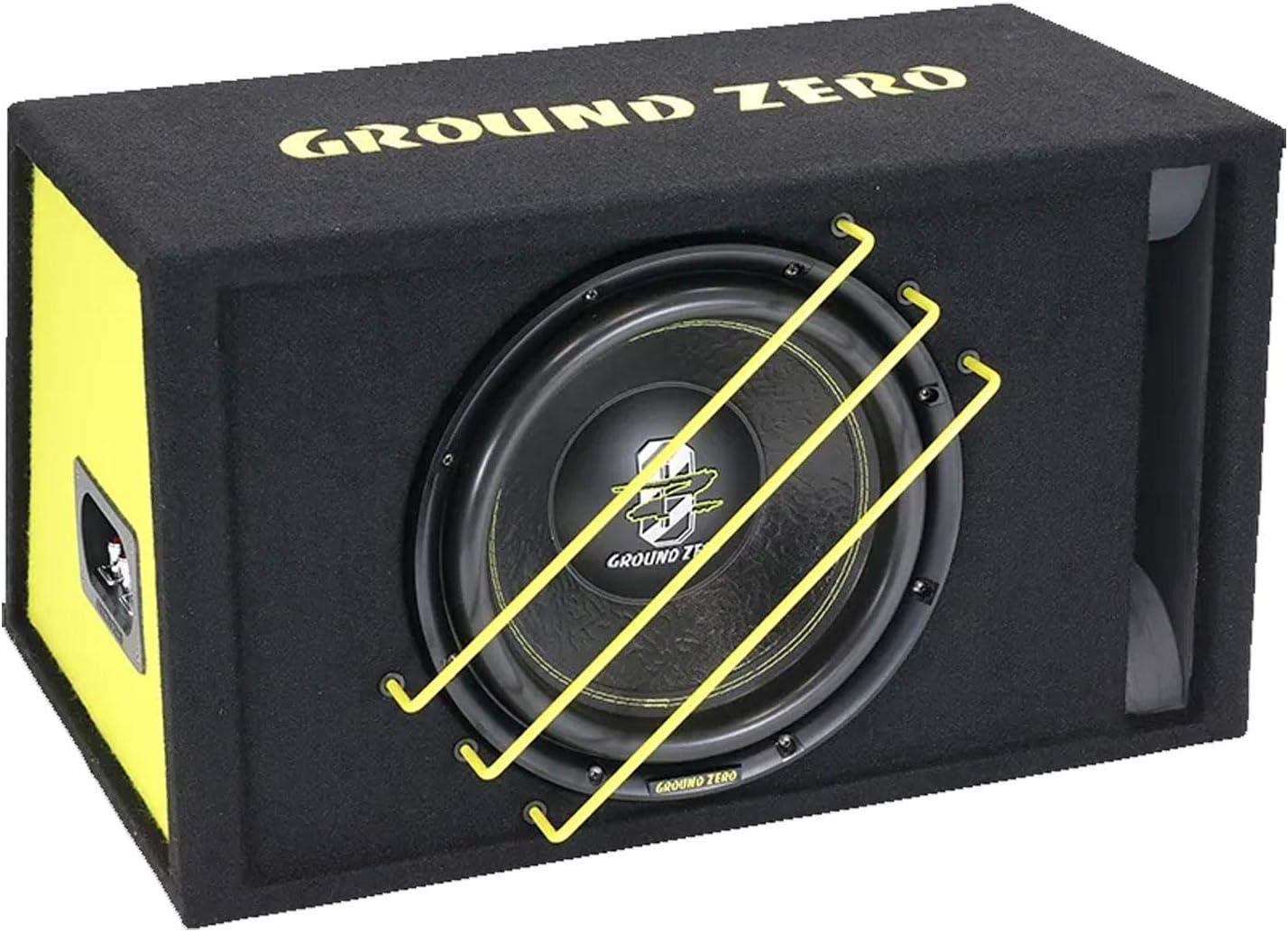 Ground Zero Gzrb30spl 30cm Spl Subwoofer Im Gehäuse Elektronik