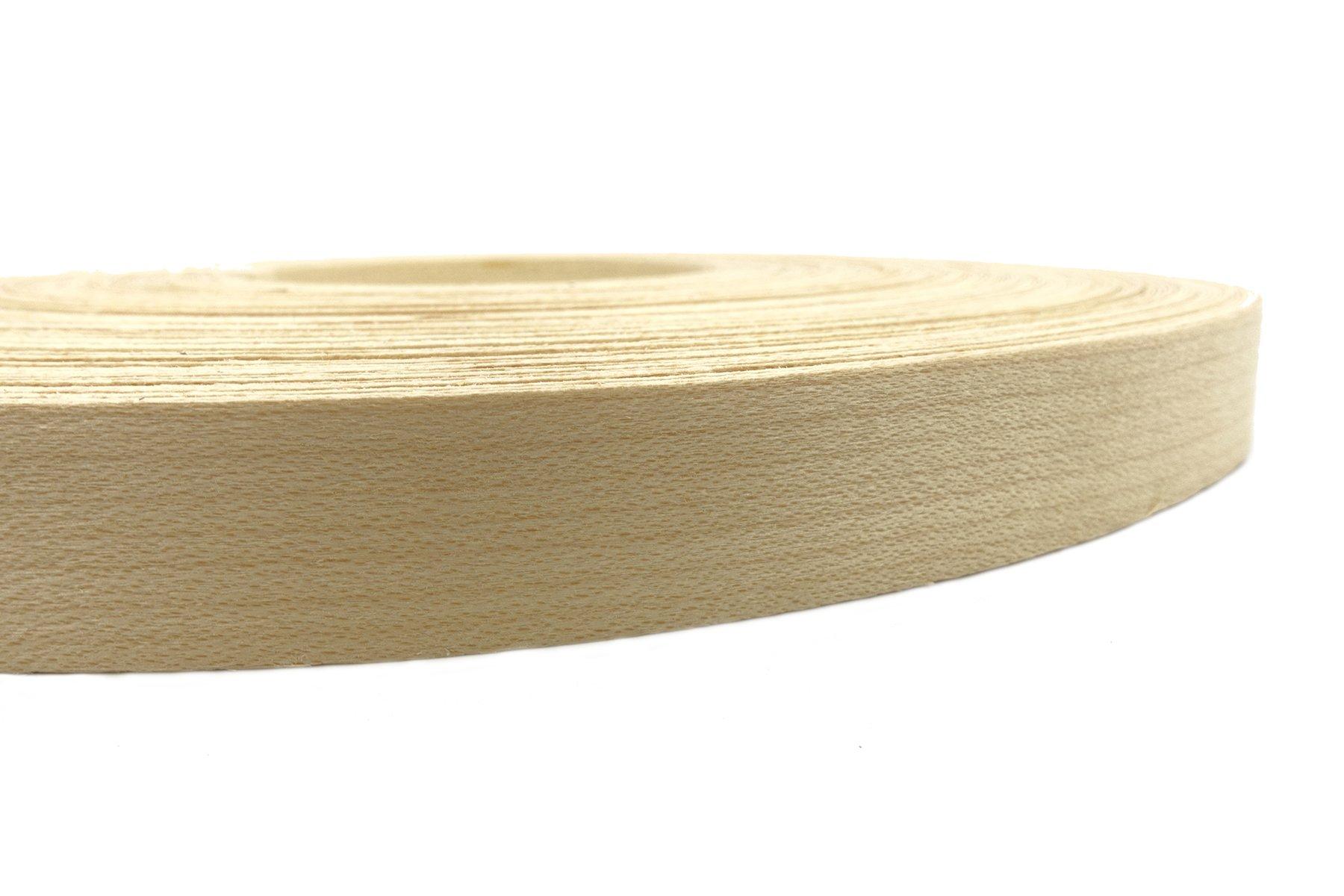 Maple Wood Veneer Edge Banding Preglued 3/4'' X 250' Roll by Beach Handiworks (Image #5)