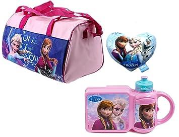 Frozen Disney bolsa de deporte la Reina de Hielo Niños Bolsa ...