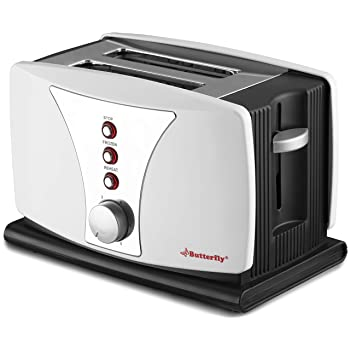 Butterfly BSTP17-18A 800-Watt 2 Slice Toaster