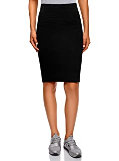 2476056b1a29 Amazon.com: MILLY Women's Fitted Skirt, Black L: Clothing