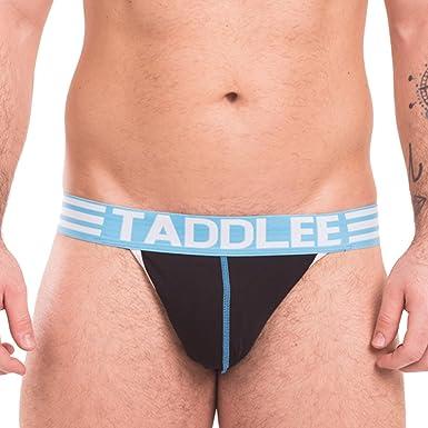 Taddlee Sexy Mens Jockstraps Gay Jock Straps Male Briefs Bikini Underwear Cotton S Black