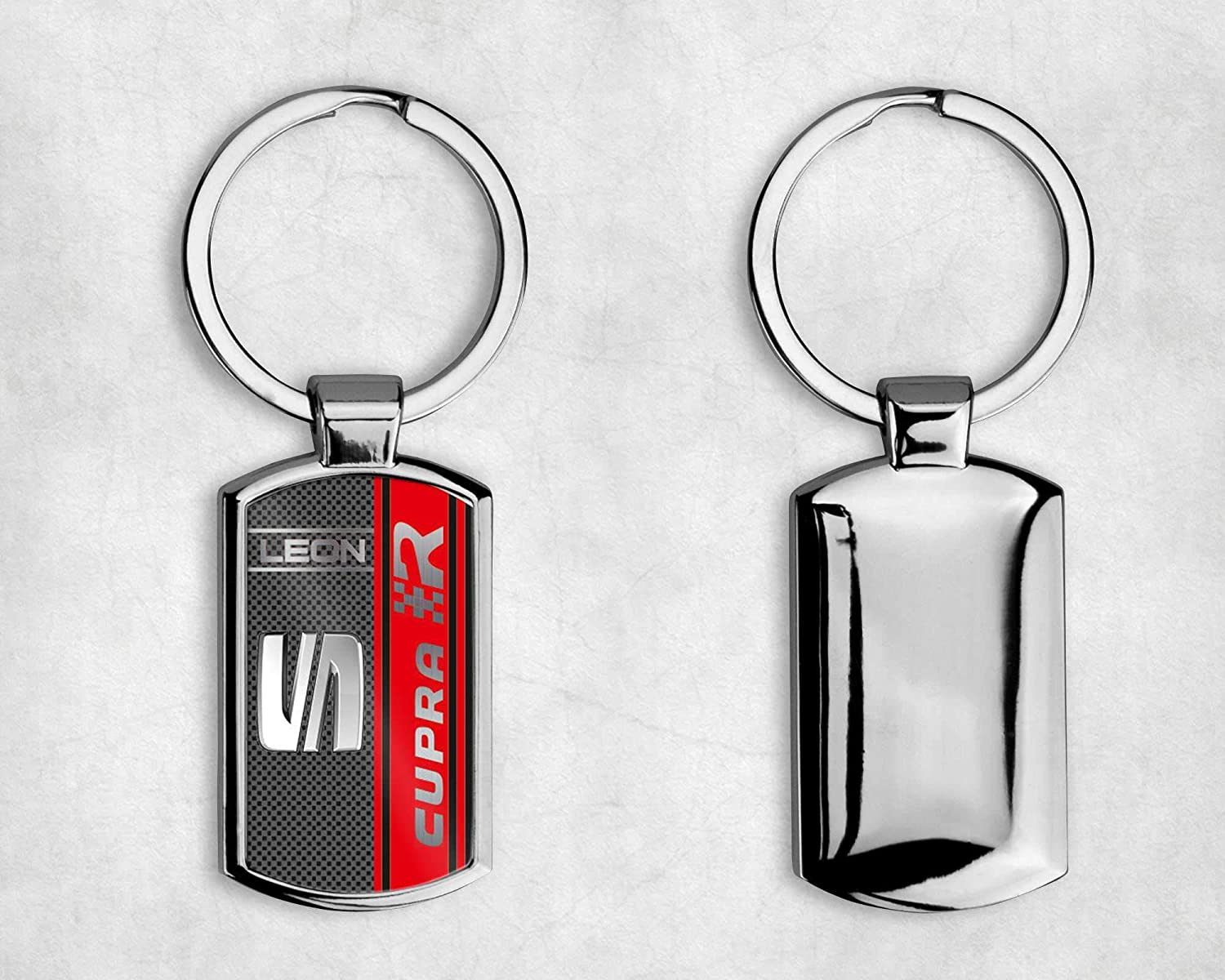 T20 DESIGNS SEAT CAR LOGO METAL KEYRING IBIZA LEON ATECA Complete with Gift Box -A002 All Models