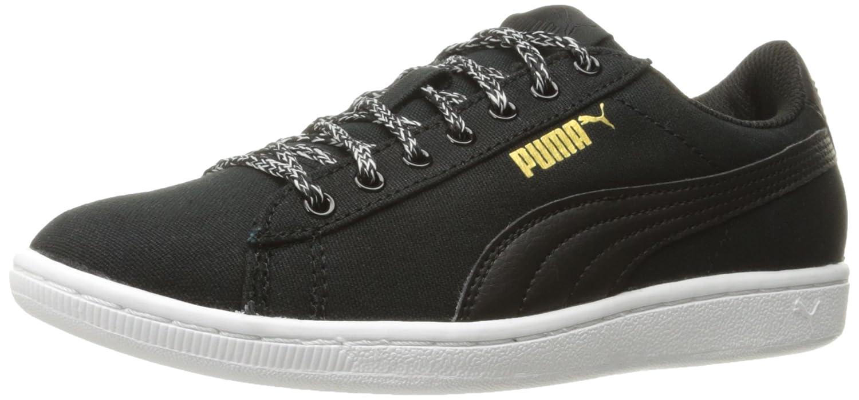 PUMA Women's Vikky Spice Fashion Sneaker B06XB91MRW 6.5 M US Puma Black-puma Blac