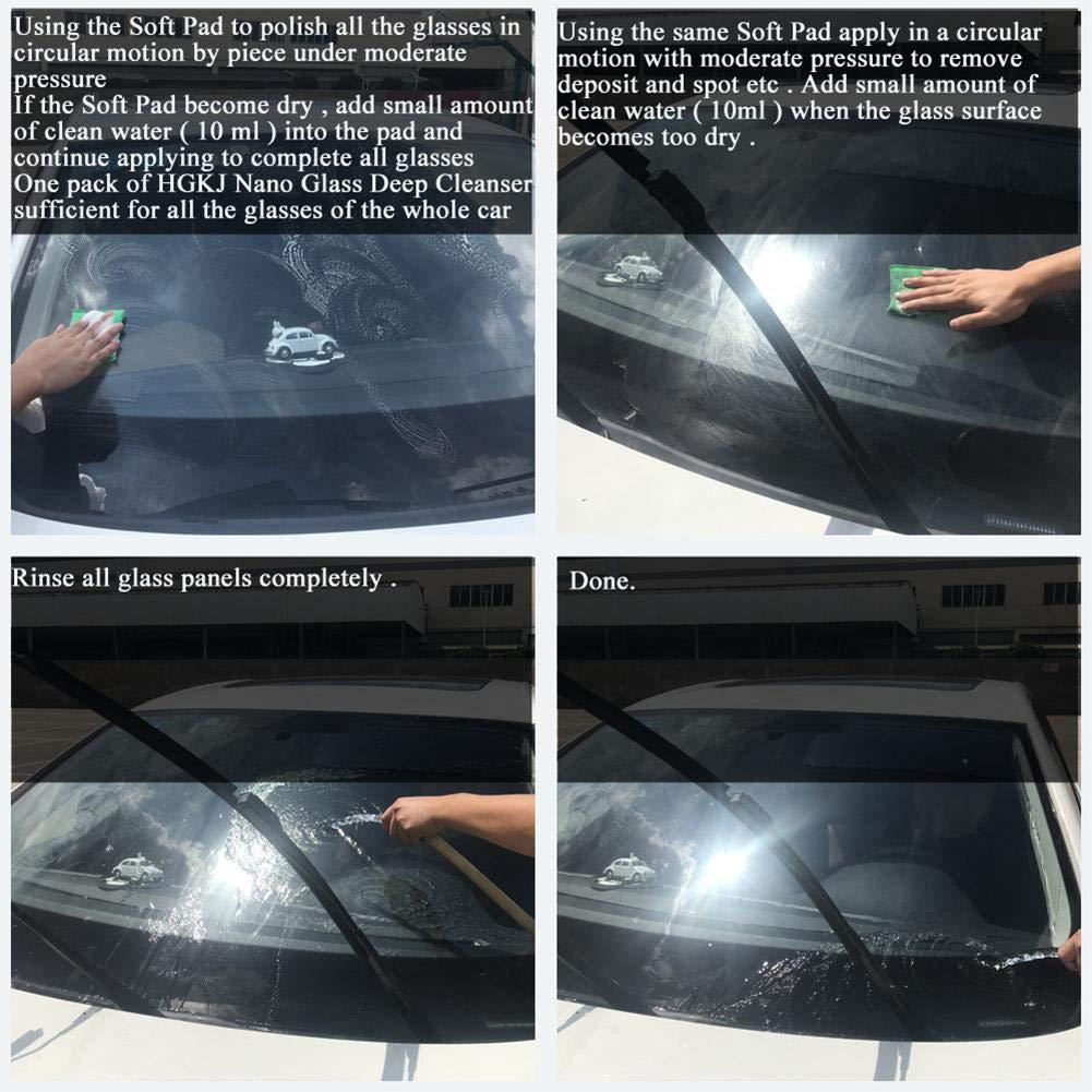 windschutzscheibe kratzer entfernen
