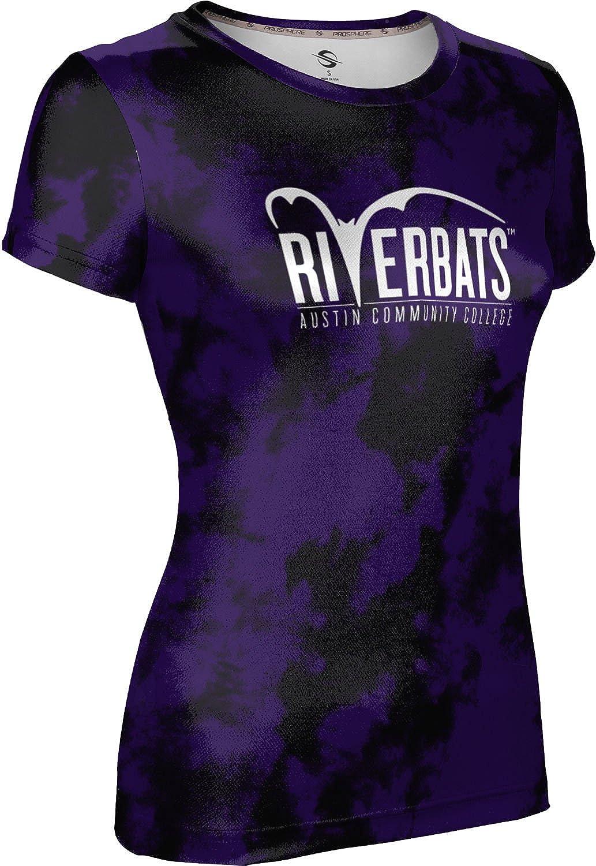 Grunge ProSphere Austin Community College Girls Performance T-Shirt