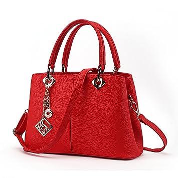 91df2a7e6a7b1 HAOXIAOZI Damen Handtaschen Handtaschen Einfach Mode Schulter Hübsche Tasche  Quasten Reisetaschen