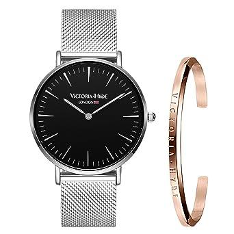 Amazon.com: VICTORIA HYDE - Reloj de pulsera para mujer con ...
