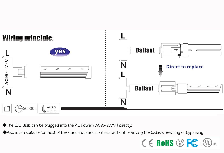 Touch Down tech-pld-1007ag10 entspricht 60 Watt, 7 Watt GX10q LED ...