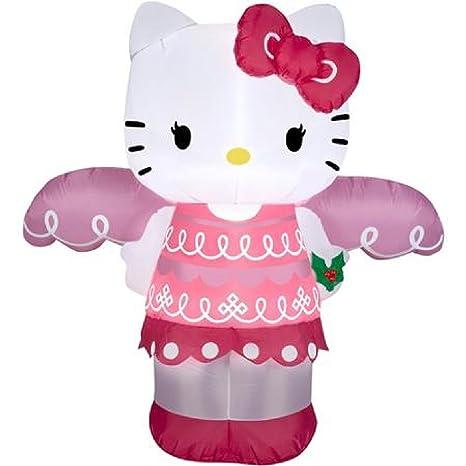Amazon.com: 4 ft hinchable airblown Hello Kitty Ángel de ...