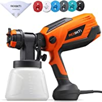 $42 » REXBETI 700 Watt High Power Paint Sprayer, 1000ml/min Hvlp Home Electric Spray Gun with…