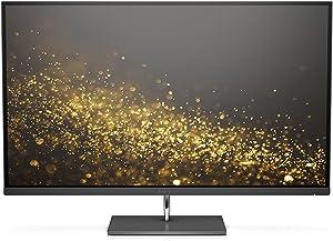 HP Envy 27-inch UHD 4K IPS Monitor with Micro-Edge Bezel and AMD FreeSync (Black) (Renewed)