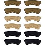 6 Pares de Almohadilla de Talón Plantilla de Zapato Autoadhesiva Protector de Cuidado de Pies (Multicolor)