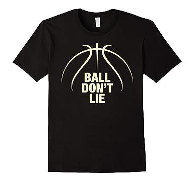 Mens Ball Don\u0027t Lie Basketball t-shirt 2XL Black