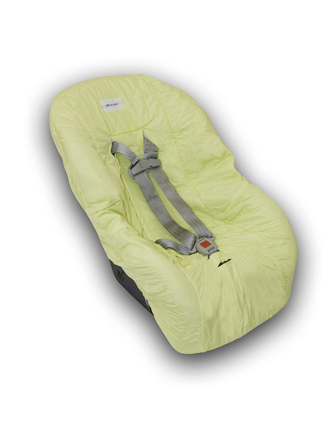 Nomie Baby Toddler Car Seat Cover, Lime 65820-lime