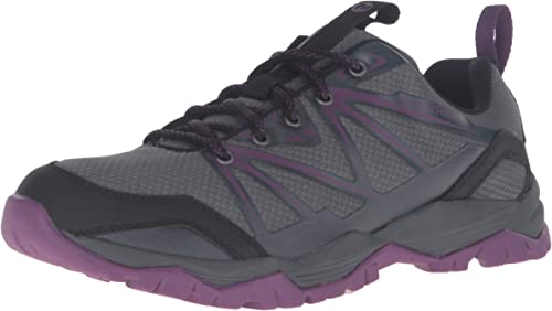 Black Merrell Capra Rise Womens Walking Shoes