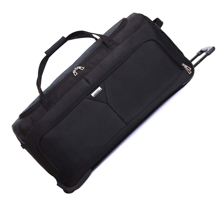 7e9475e3b29 Karabar Girona Extra Large XL 30 Inch Super Lightweight Wheeled Rolling  Hold Luggage Holdall Duffle Bag with Wheels