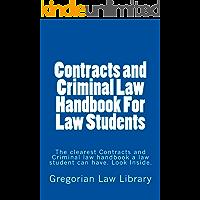 Contracts and Criminal Law Handbook For Law Students  e book (e borrowing allowed): e book (e borrowing allowed)