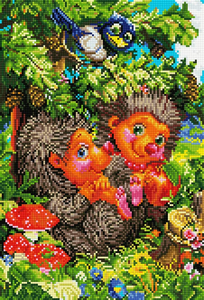 TINMI ARTS-5D Diamond Painting Kits for Adults Full Round Mosaic Cross Stitch Kits Embroidery Kits Home Wall D/écor 12x16 Little Prince and Rose