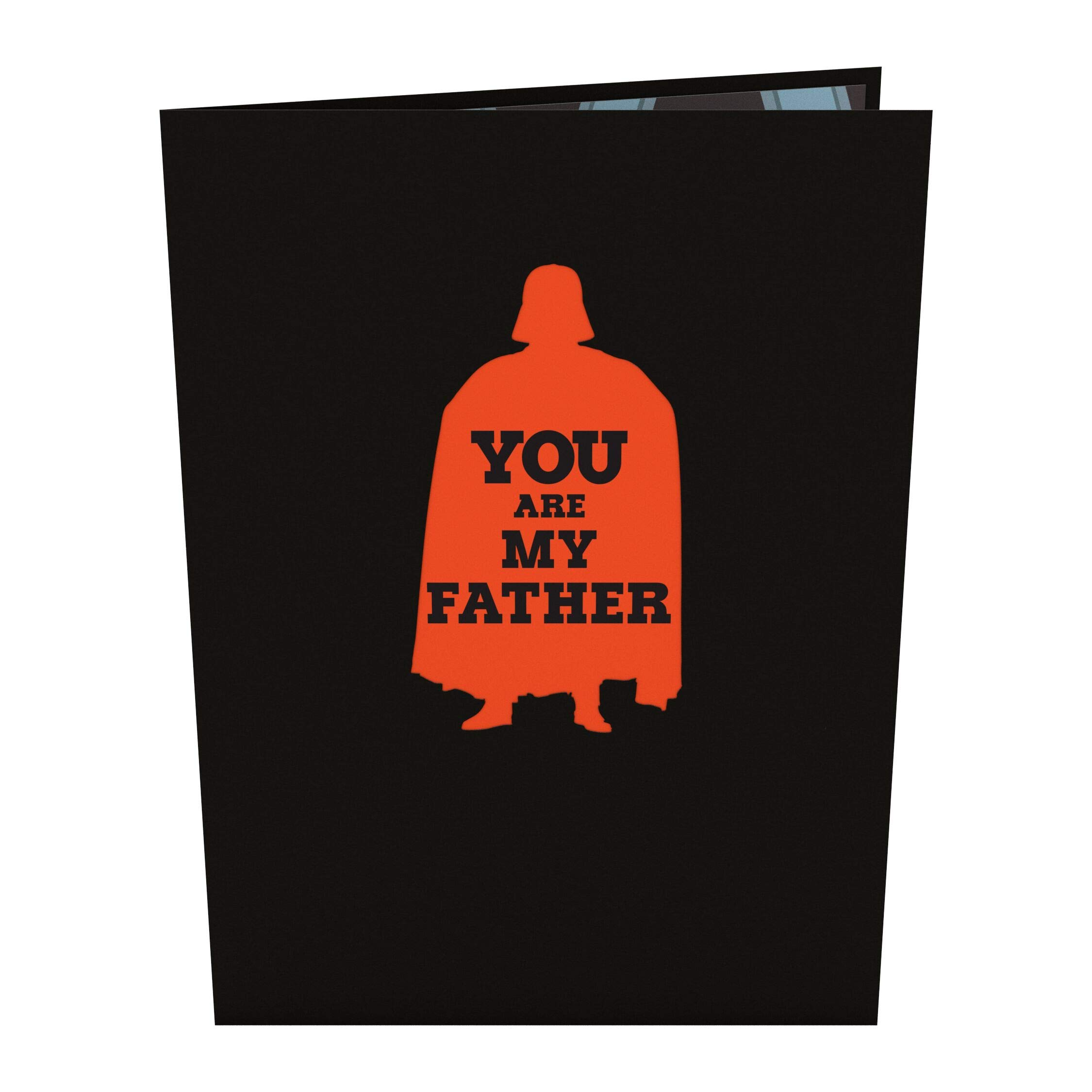 Lovepop Star Wars Darth Vader Best Dad Pop Up Card, Father's Day Card, Greeting Card, Dad Card, 3D Cards, Birthday Card, Greeting Card, Card for Dad by Lovepop (Image #2)