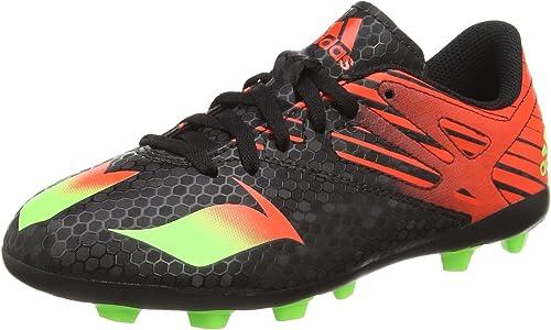 corrupción casete Disminución  Amazon.com: adidas Messi 15.4 FxG Jr Football Boots - Youth - Core  Black/Solar Green/Solar Red - UK 5: adidas: Shoes