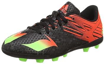 adidas Messi 15.4 FxG Jr Football Boots - Youth - Core Black/Solar Green/