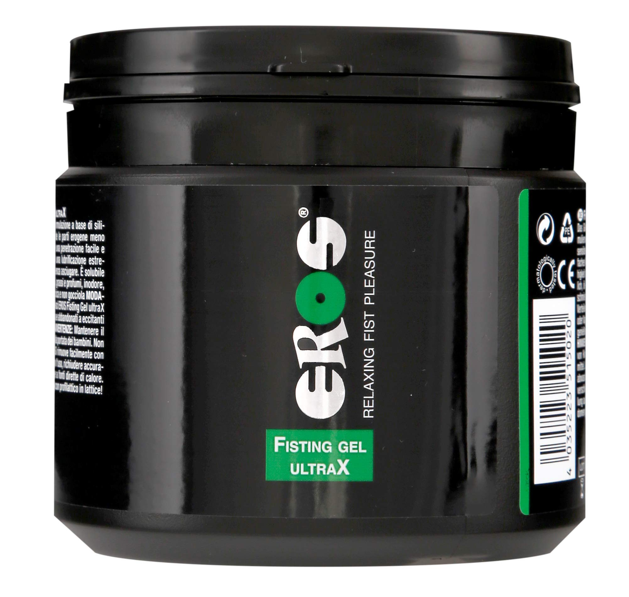 EROS Personal Lubricant for Fisting and Anal Sex - Thick and Long Lasting Back-Door Relaxing Gel - Hybrid Silicone and Water Based Anal Lube for Men   Women  Gays - 500-ml (17-oz) by EROS