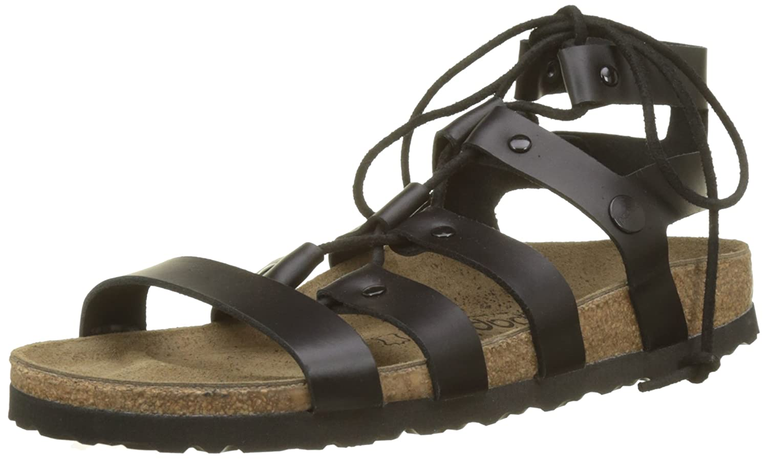 Birkenstock - Cleo - 1008773 - Color: Black - Size: 6.5 B077QCXBNN Parent