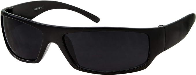 Amazon.com: Gafas de sol para hombre, color negro, muy ...