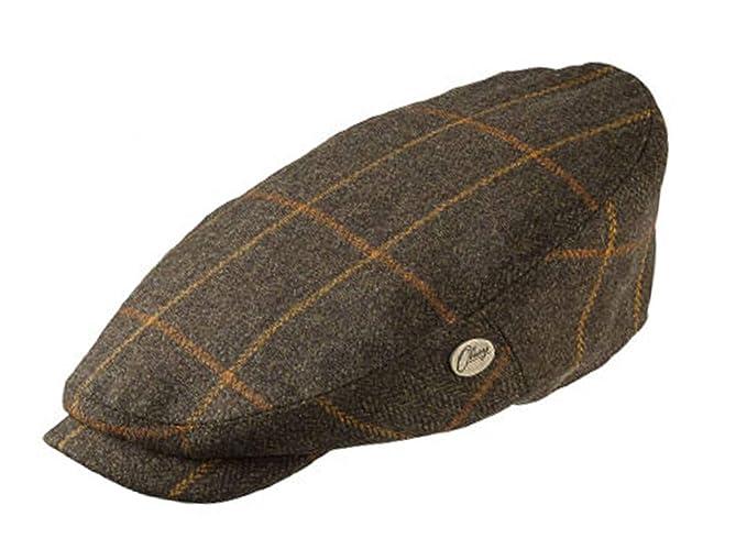 aa483ed0a8762 Olney Bond Oversized Tweed Flat Cap