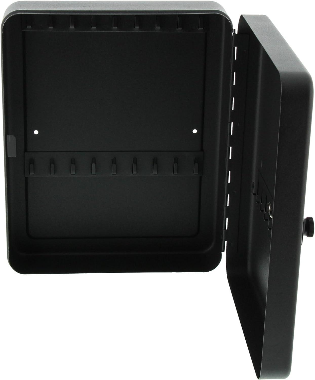 HxBxT Burg-W/ächter KC 20 C Abschlie/ßbare Schl/üsselbox mit Zahlenschloss Schwarz 200x160x74mm