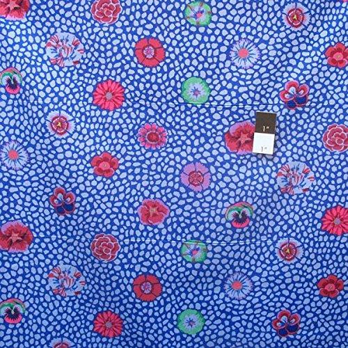 Westminster Rowan Kaffe Fassett Spring 2016 Kaffe Fassett Cobalt Guinea Flowers